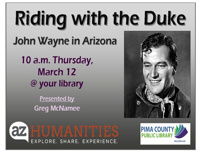 Riding with the Duke John Wayne in Arizona