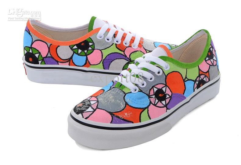 5e6747e3e895 Paint Your Shoes!