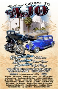 4th Annual Cruise to Ajo (RED and WHITE WEEKEND) @ Ajo Plaza