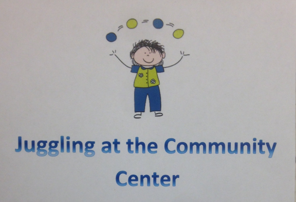 JUGGLING AT THE COMMUNITY CENTER