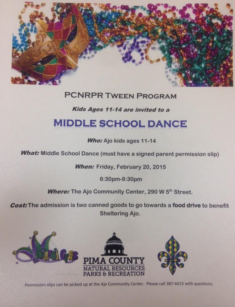 middles school dance