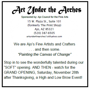 Art Under the Arches! @ Art Under the Arches | Ajo | Arizona | United States