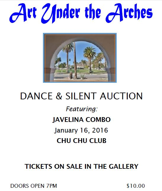 dance and silent auction